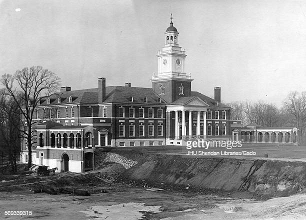 Exterior Gilman Hall looking northwest Johns Hopkins University Baltimore Maryland 1916