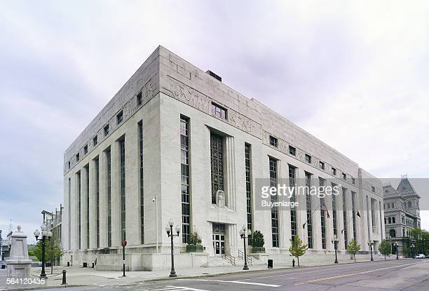 Exterior James T Foley US Post Office and Courthouse Albany New York