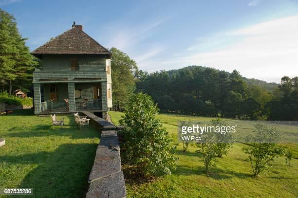 Exterior Naulakha, Rudyard Kipling house, Brattleboro Vermont.