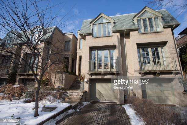 Exterior of 30A Balmoral Ave Toronto where Bruce McArthur may have done some garden designing