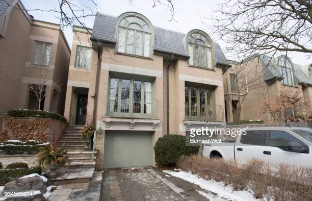 Exterior of 32B Balmoral Ave Toronto where Bruce McArthur may have done some garden designing