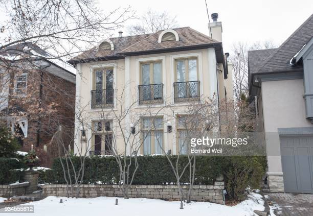 Exterior of 498 St Clair Ave E where Bruce McArthur may have done some garden designing