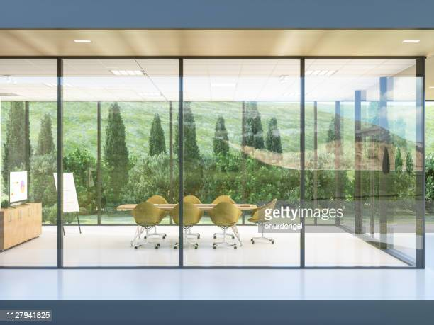 exterior of a build contemporary office - board room stock pictures, royalty-free photos & images