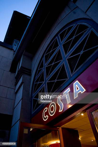 Exterior of a Costa Coffee store