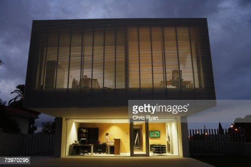 modern office exterior. Keywords Modern Office Exterior