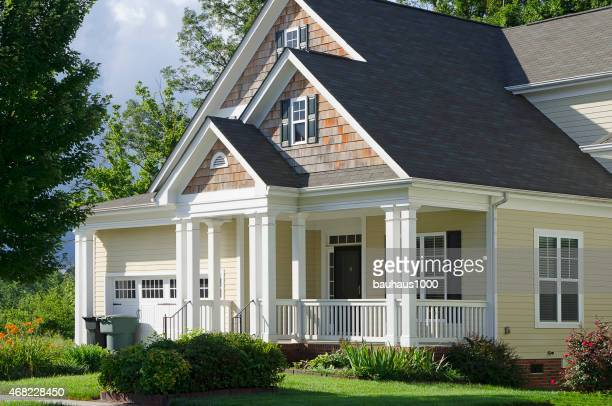 Exterior of a New, Bungalow, Cottage-style Home