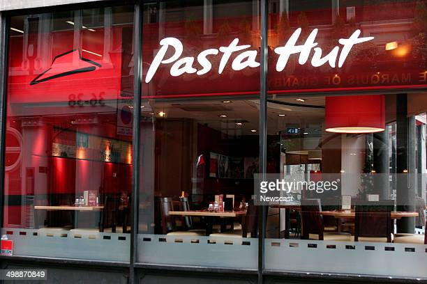 Exterior of a rebranded Pizza Hut store Pasta Hut was a marketing trial attempted during 2009