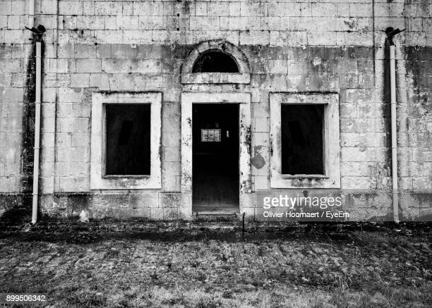 Exterior Of Abandoned Building