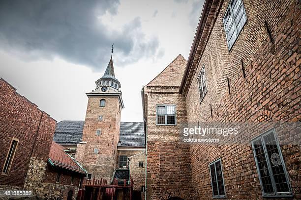 Extérieur du Château fort d'Akershus à Oslo, Norvège