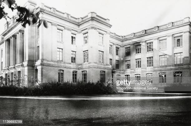 Exterior of building on the University of WisconsinMadison campus Madison Wisconsin 1922