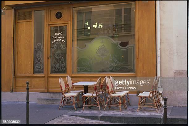 Exterior of Cafe