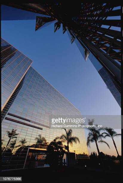 Exterior of Crystal Cathedral
