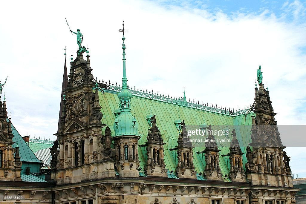 Exterior Of Historic Building Against Sky : Stock Photo