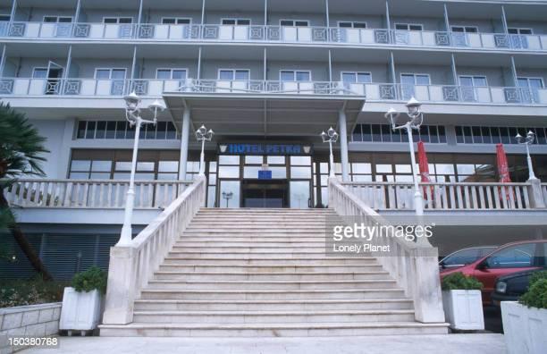 Exterior of Hotel Petka.