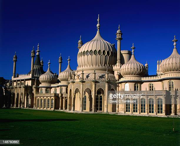 Exterior of Indian-inspired Royal Pavilion.