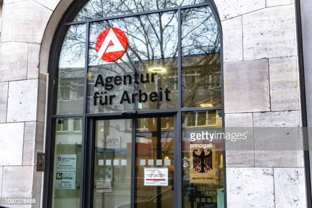 Außenseite der Arbeitsagentur Gebäude in Berlin-Mitte (Agentur Für Arbeit)