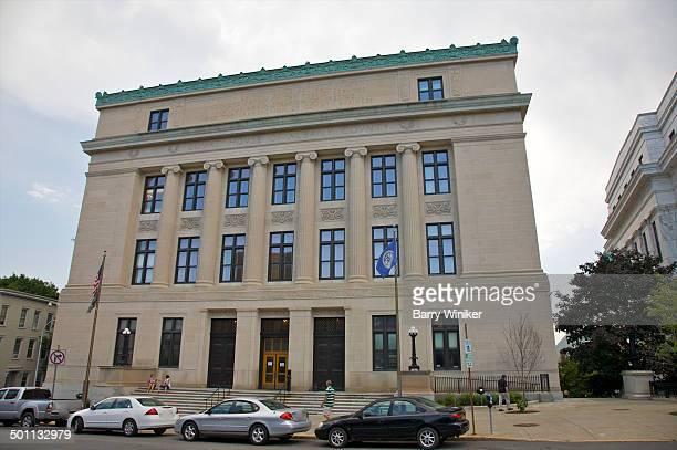 Exterior of landmark Albany Courthouse