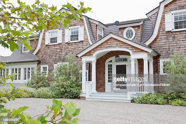 exterior of large residential home - cef do not delete stock pictures, royalty-free photos & images