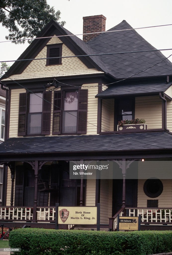 Exterior Of Martin Luther King Birth Home Stock Photo Getty Images