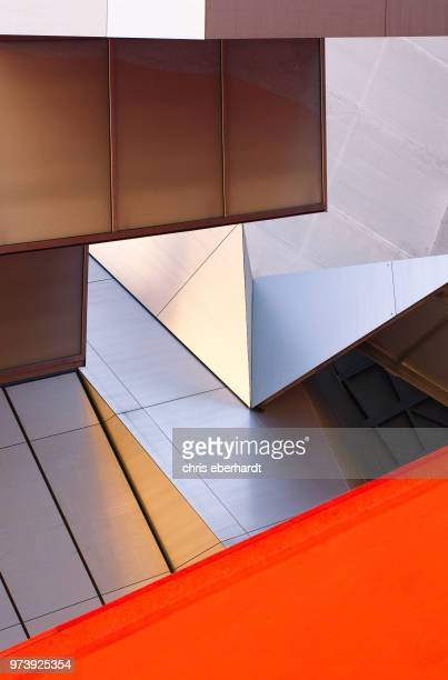 exterior of modern building in munich, germany - architecture stock pictures, royalty-free photos & images