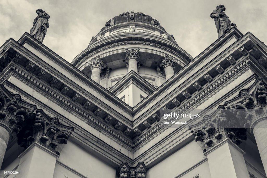 Exterior of Neue Kirche, Berlin, Germany : ストックフォト
