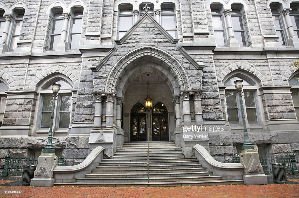 Exterior Of Old City Hall 1894 Gothic Revival Style Richmond