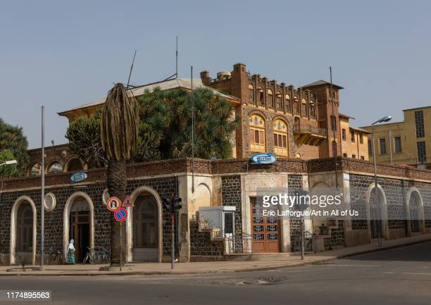 Exterior of old opera house from the italian colonial times, Central region, Asmara, Eritrea on August 21, 2019 in Asmara, Eritrea.