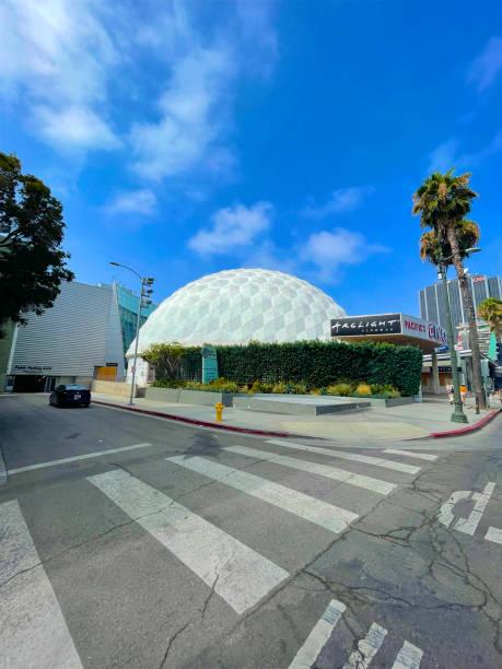 Exterior of Pacific's Cinerama Dome, Los Angeles