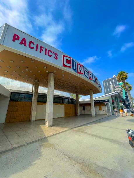 Exterior of Pacific's Cinerama Theatre, Los Angeles