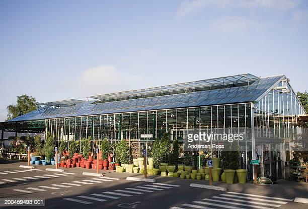 Exterior of plant nursery