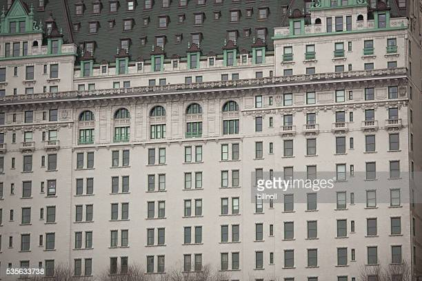 Exterior of Plaza Hotel in NYC