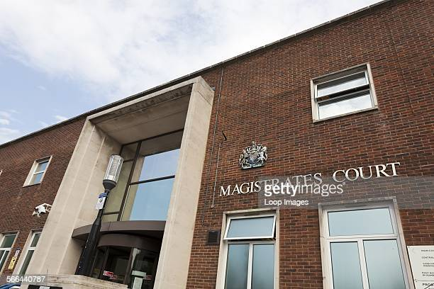 Exterior of Portsmouth Magistrates Court.