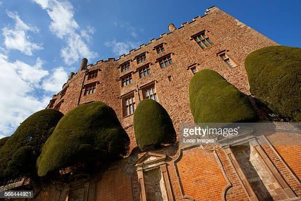 Exterior of Powis Castle.