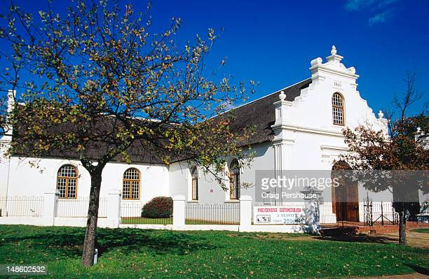 Exterior of Rhenish Missionary Church.