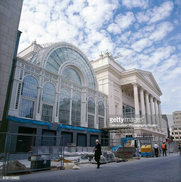 Exterior of Royal Opera House Covent Garden London United Kingdom