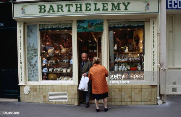 Exterior of shop Fromagerie Barthelemy.