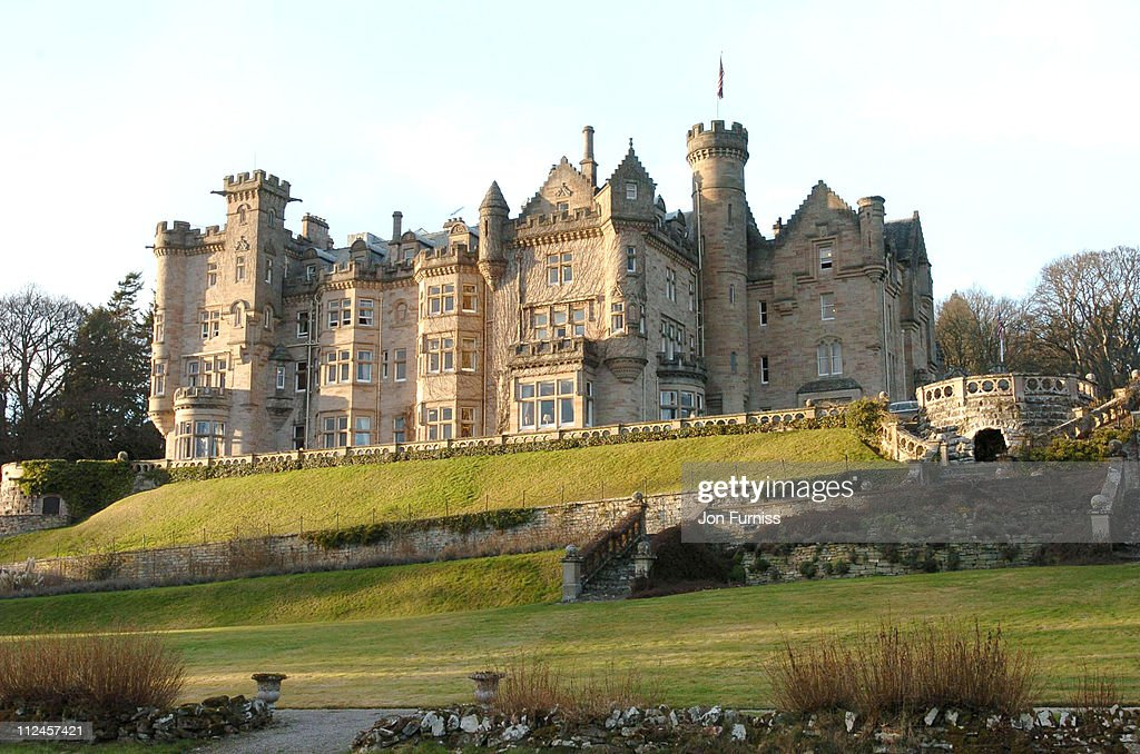 Exterior Of Skibo Castle During The Scene Madonna And Guy Ritchie S Wedding
