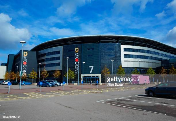 Exterior of Stadium MK football ground, Home of Milton Keynes Dons football club
