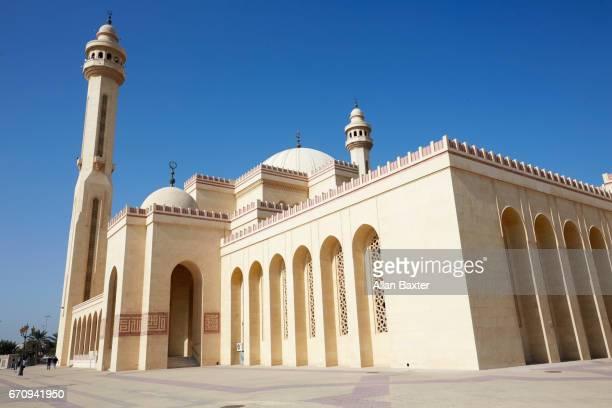 Exterior of the 'Al Fateh Grand Mosque' in Manama, Bahrain