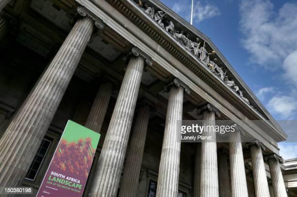 Exterior of the British Museum.