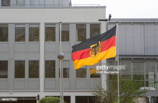 Exterior of the building for the newly created Command Cyber and Information Room of the Federal Army in Bonn