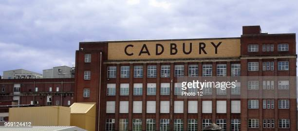 Exterior of the Cadbury's Chocolate Factory in Birmingham Dated 2015