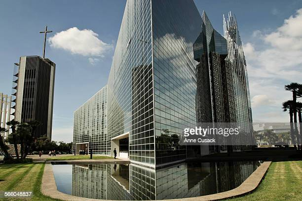 Exterior of The Crystal Cathedral in Garden Grove on Sunday September 24 2010 The church filed for bankruptcy this past week