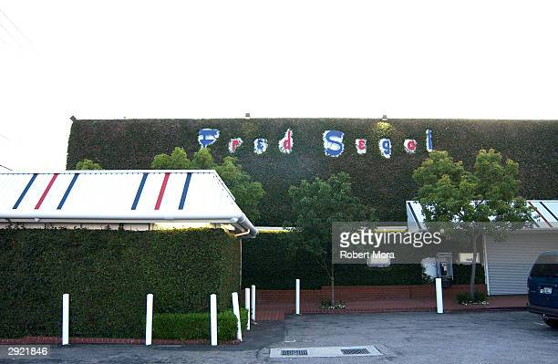 Exterior of the Fred Segal clothing store in Los Angeles California June 1 2002