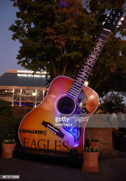 Exterior of the Grand Ole Opry House during SiriusXM presents the Eagles in their first ever concert at the Grand Ole Opry House on October 29 2017...