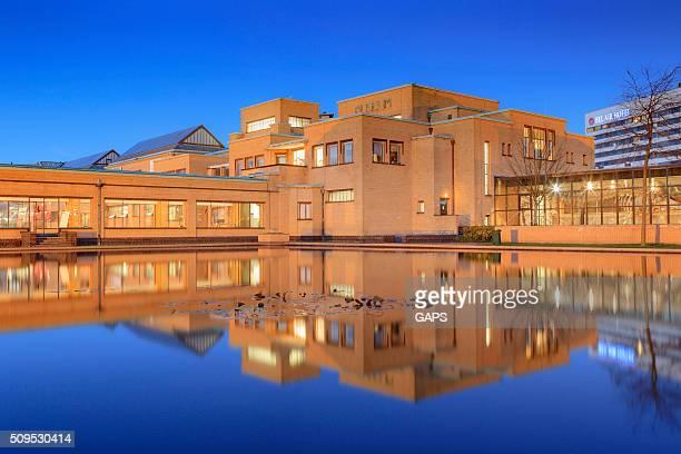 exterior of The Hague's Gemeentemuseum Den Haag