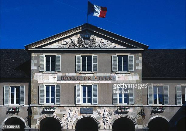 Exterior of the Hotel de Ville on May 26 1997 in Beaune France
