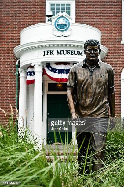 Exterior of the JFK Museum