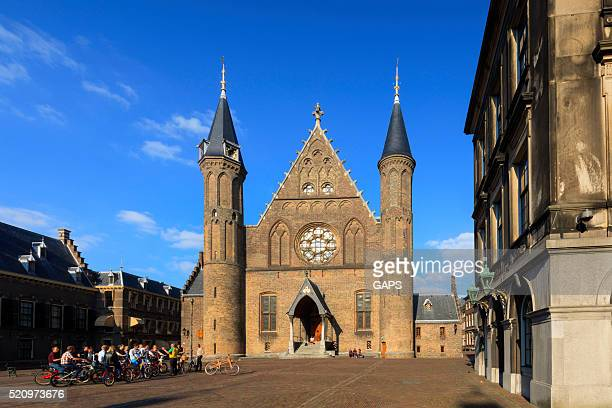 exterior of the Knights' Hall at Binnenhof