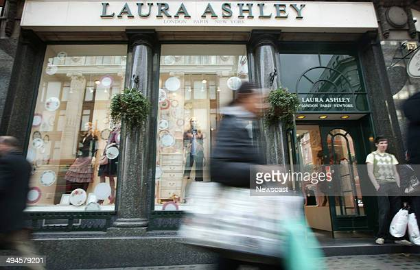 Exterior of the Laura Ashley store on Oxford Steet London